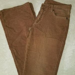 7 For All Mankind tan cord jean
